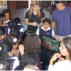 The international connection has been enjoyed by students at both schools.