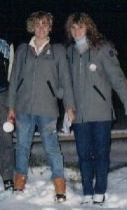 Our blogger and Dr Hakanson in NJ at WMCHS, 1986